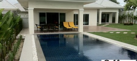 West Hua Hin – Well Designed 4 Bed Pool Villa