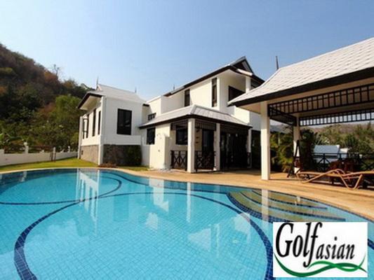 South Hua Hin – Great 2 Storey 3 Bedroom Pool Villa on Hill Top