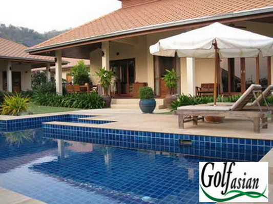South Hua Hin – 5 Bed Pool Villa on Golf Course
