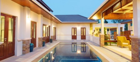 High quality premium build tropical homes in Hua Hin, Thailand
