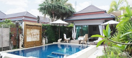 Thai – Balinese Styled Swimming Pool Villa