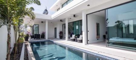 Ultra Modern Swimming Pool Villas