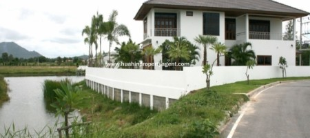 Double Story Swimming Pool House For Sale