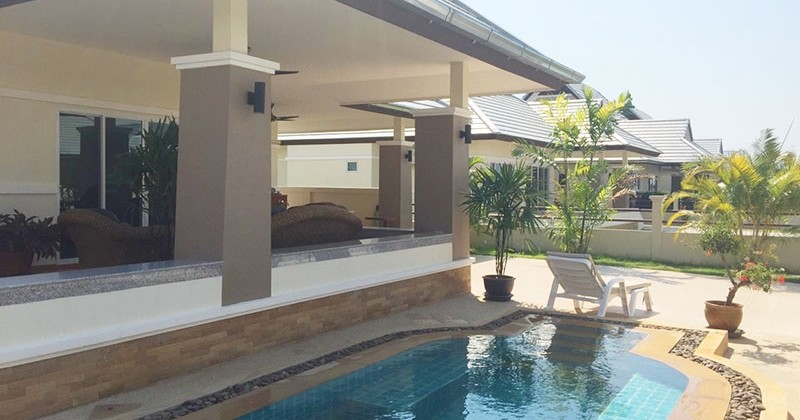 Newly Upgraded Pool House In Hua Hin