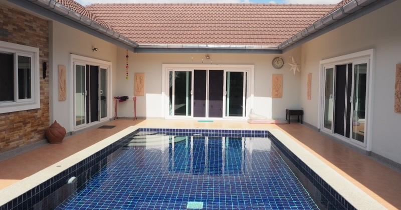 Finished House For Sale With Pool Hua Hin