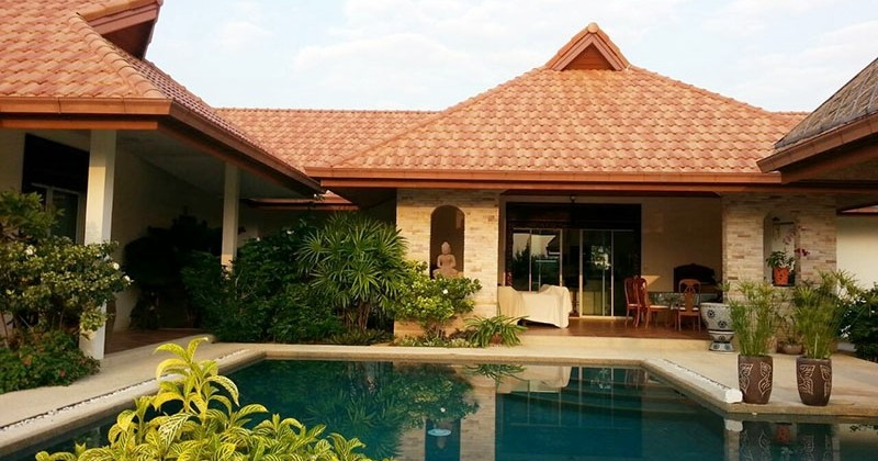 Unique House For Sale In Hua Hin Near Black Mountain