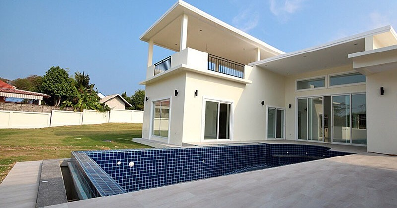 Luxury Pool Villa On Development In Hua Hin
