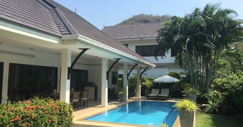 Attractive Pool Home 5 Minutes From Hua Hin Centre and Beach