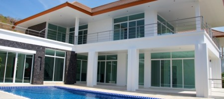 Swimming Pool Property For Sale Hua Hin, Thailand With Stunning Sea Views