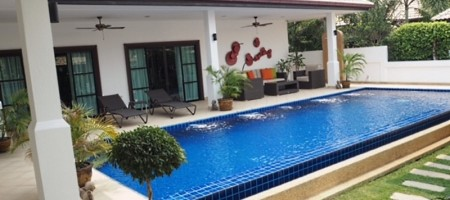Well Constructed Private Pool Villa Property For Sale Hua Hin, Thailand