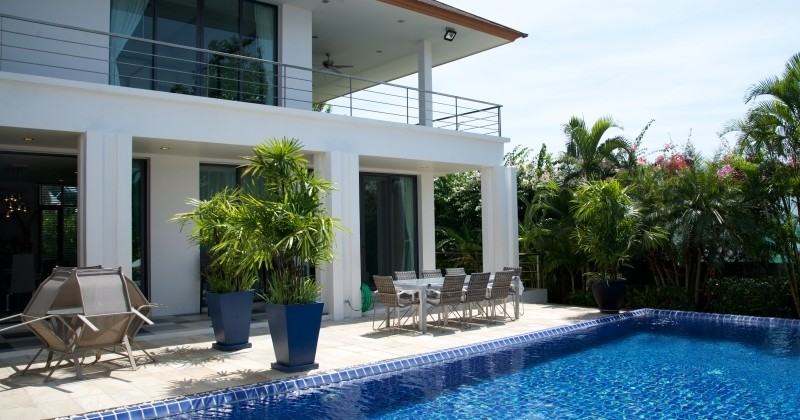Sea View Luxury House For Sale Hua Hin, Thailand Situated On Magic Mountain
