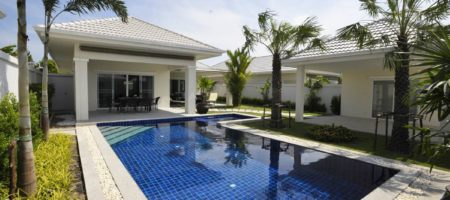 Taking reservations now! Hua Hin 3 bed pool villas only 4.95m Baht!