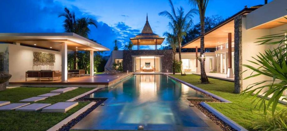 Luxury private pool villas minutes away from one of the world's most famous beaches located in Phuket