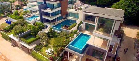 Modern Sea view villas For Sale South of Phuket island