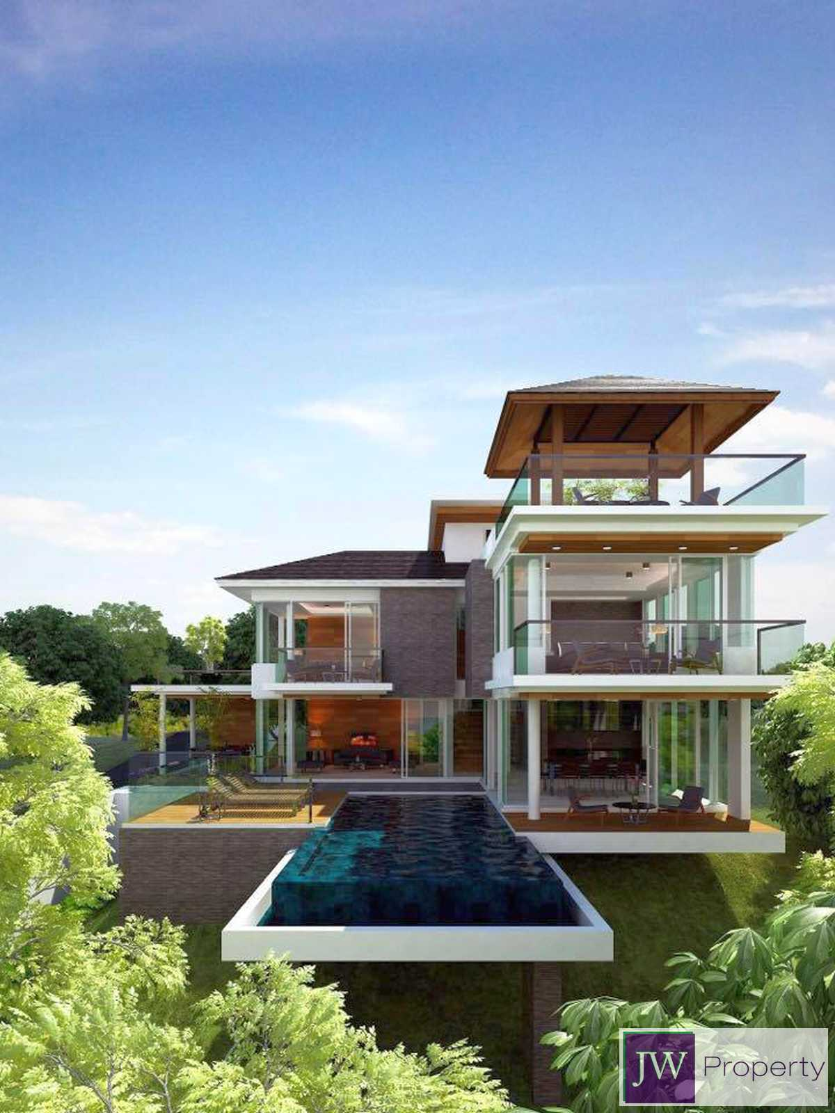 Modern Sea view villas For Sale South of Phuket island