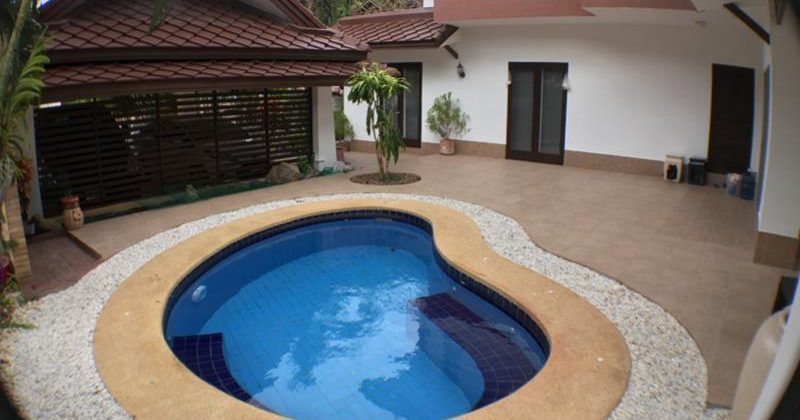 Two-story Balinese Style House for Sale in Town (11174)