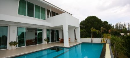 Modern Pool Villa with Sea View (10366)