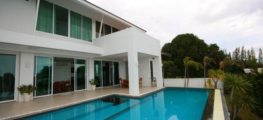 Modern Pool Villa with Sea View (10366)