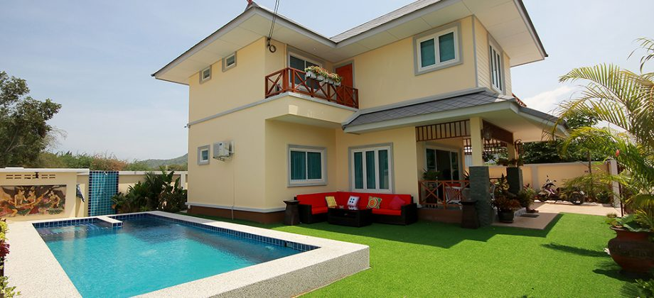 Brand New Two Storey House with Pool for Sale Hua Hin Soi 112 (11269)