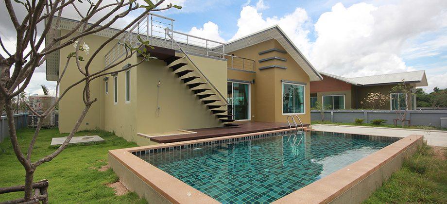 Beautiful Villa for Sale Tha Cha Park Soi 112 (11280)
