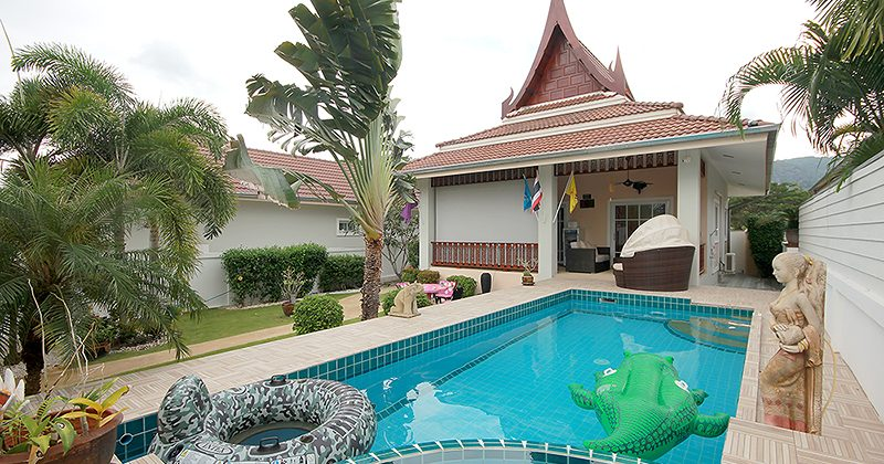 2 Bedroom Pool Bungalow for Sale Close to Golf and the City (11027)
