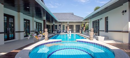 Thai Bali Villa On Palm Hills Golf Course (10574)