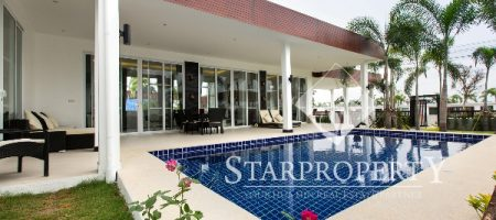 Modern Bungalow with Private Pool (10599)