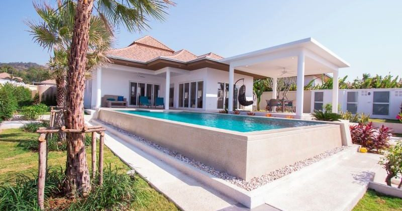 Beautiful Pool Villa for Sale at The Views by Orchid Palm Homes Hua Hin 112 (11256)