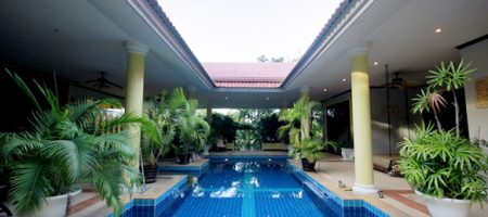 Luxury Balinese Villa in Palm Hills Golf Course for Rent (30681)