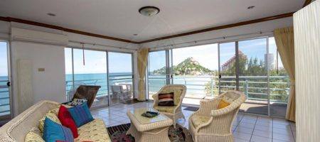 Absolute Beachfront Sea View Condo (40323)