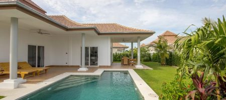 Beautiful Pool Villa for Rent at Mali Hua Hin 112 (30688)