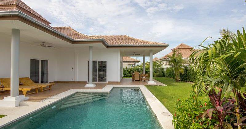 Beautiful Pool Villa for Rent at Mali Hua Hin 112 (30688)