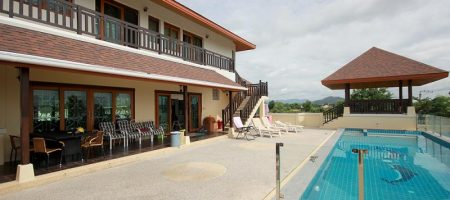 Beautiful Pool Villa for Rent with Tennis Court (30698)