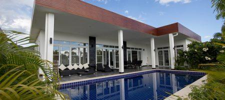 Modern Design Luxury Pool Villa For Rent  (30542)