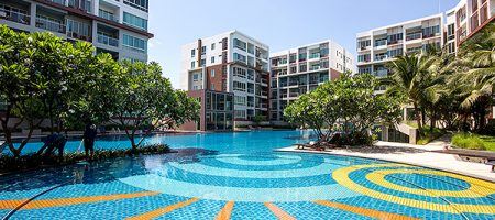 2 Bedrooms with Pool View at Seacraze for Sale (20749)