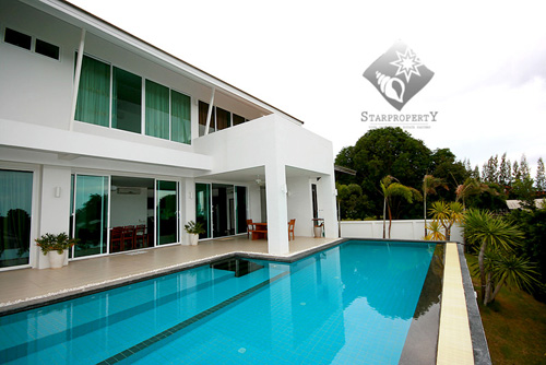 Modern Pool Villa with Sea View for Rent  (30280)