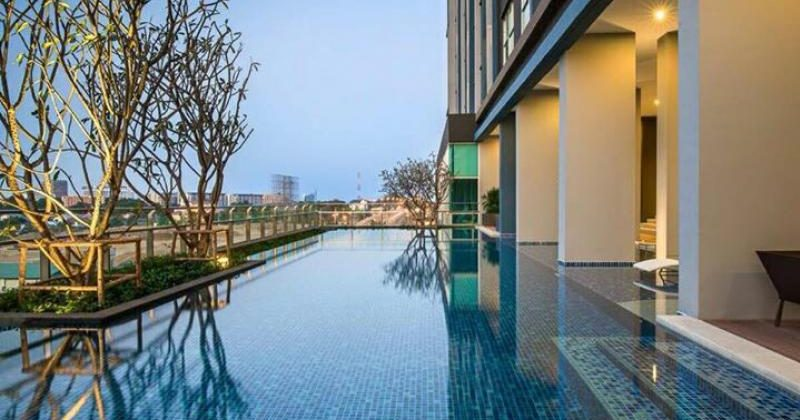 Studio Unit Floor 8 at Baan KhiangFah for Sale (20765)